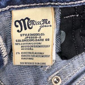Miss Me Jeans - Miss Me Bootcut Jeans   Bedazzled Denim Pants (29)